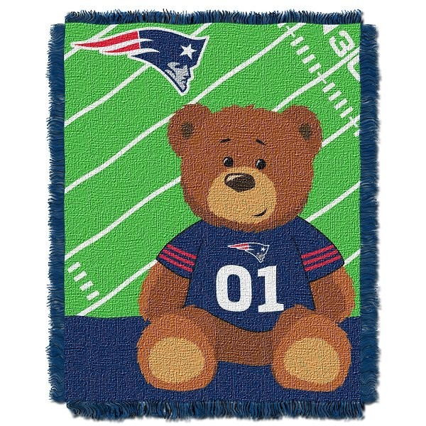 Pats baby blanket