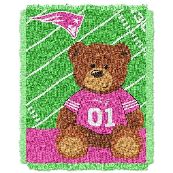Pats baby blanket pink