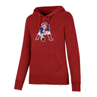 Ladies '47 Throwback Headline Hood-Red