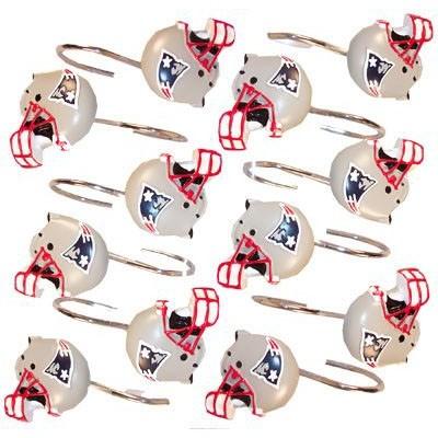 Patriots Shower Curtain Rings(12) - Patriots ProShop