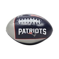 Patriots quick toss softee football