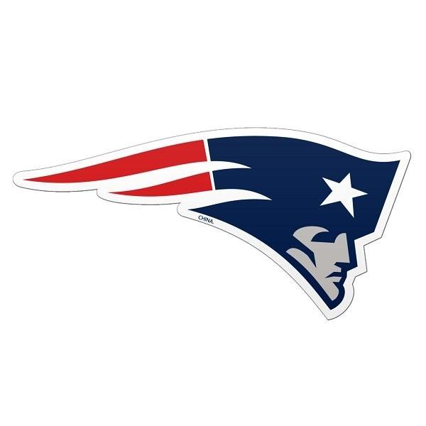 Patriots logo car magnet