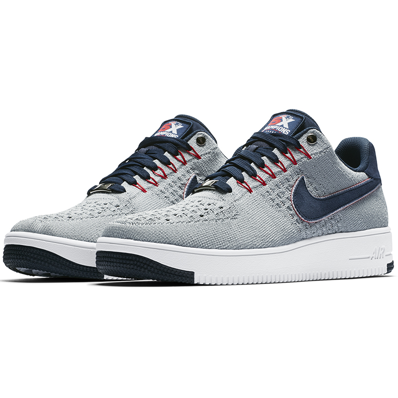 sale retailer ac464 298be RKK Nike Air Force 1 Low Ultra Flyknit Shoe - Patriots ProShop