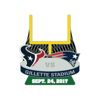 Patriots-Texans Game Day Pin