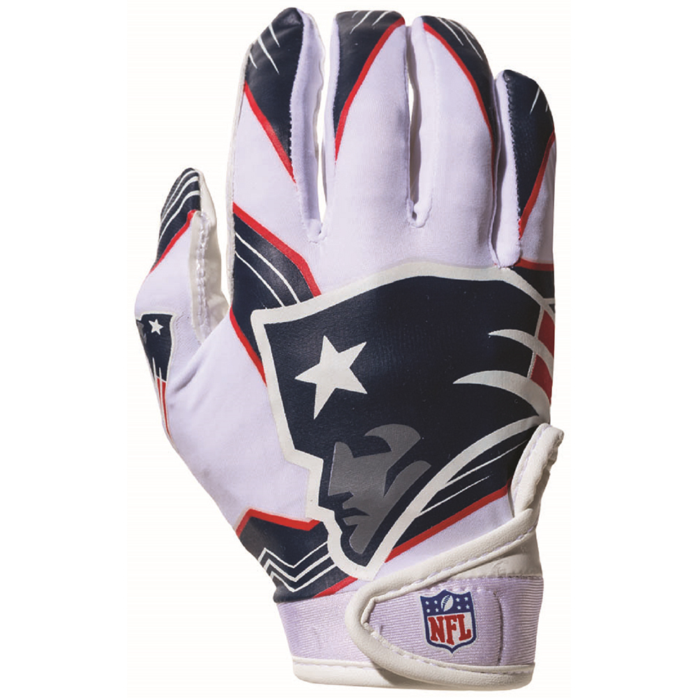 Youth Receiver Gloves OSFM  Patriots ProShop