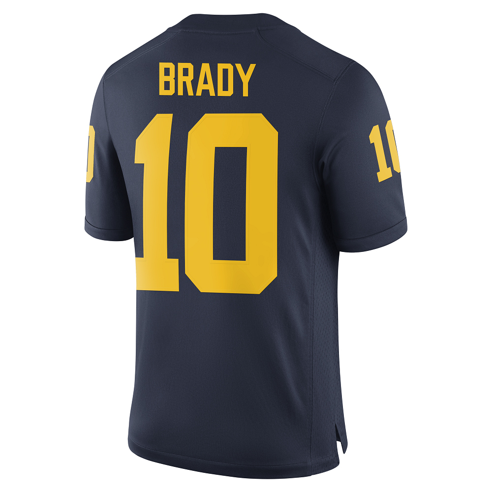 best website 611ea aa9c4 Tom Brady Michigan Game Jersey