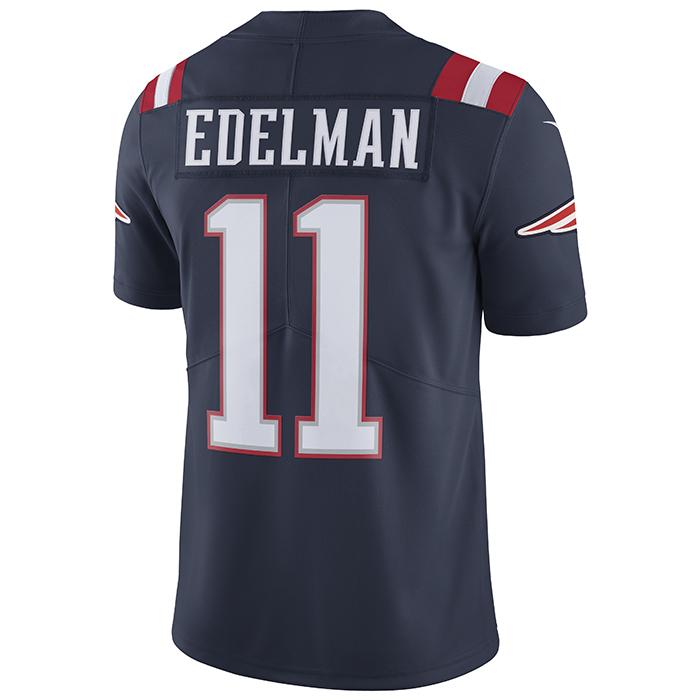 Nike Julian Edelman  11 Color Rush Limited Jersey-Navy - Patriots ProShop 89361af4f3
