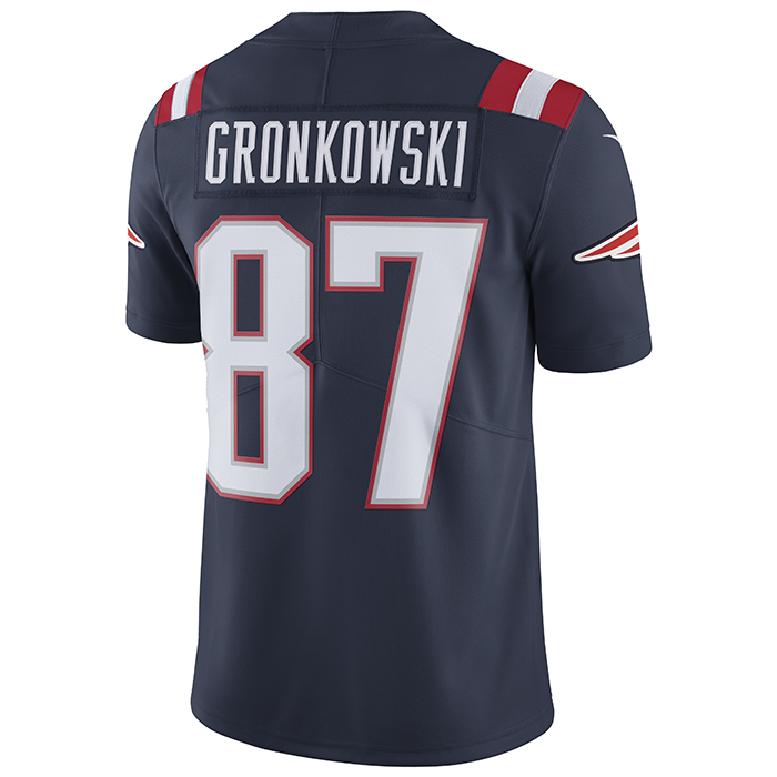 meet e546e 22275 Nike Rob Gronkowski #87 Color Rush Limited Jersey-Navy
