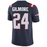 Nike Stephon Gilmore#24 Color Rush Limited Jersey-Navy