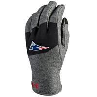 Survivor Fleece Mens Gloves-Charcoal