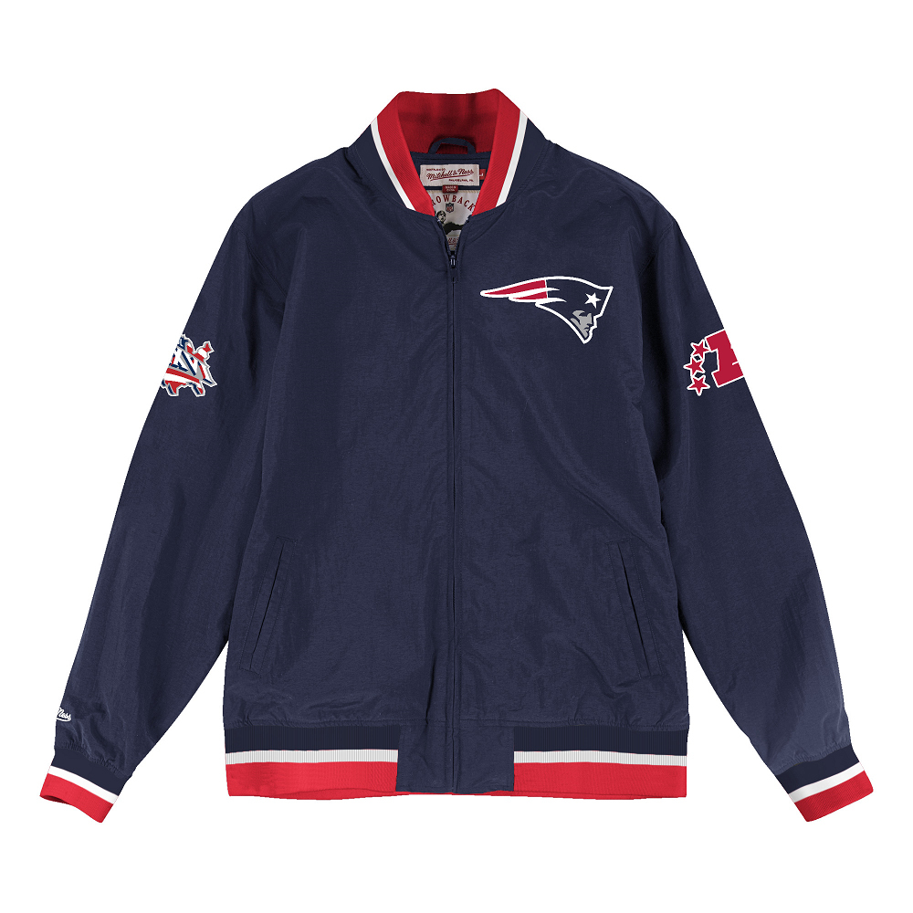 Mitchell + Ness Super Bowl 36 Warm Up Jacket