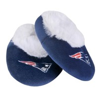 Patriots baby bootie slippers