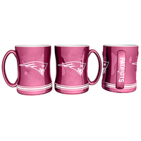 Pink Sculpted Logo Mug