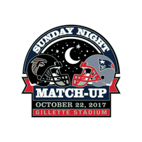 Patriots-Falcons Game Day Pin