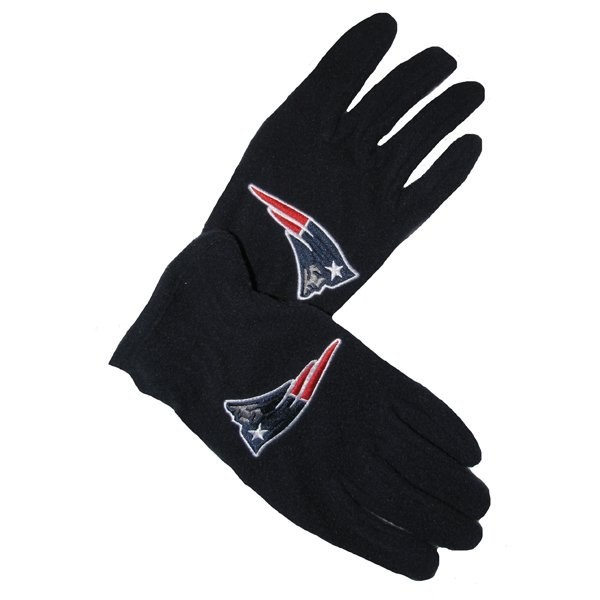 Patriots '47 fleece gloves navy
