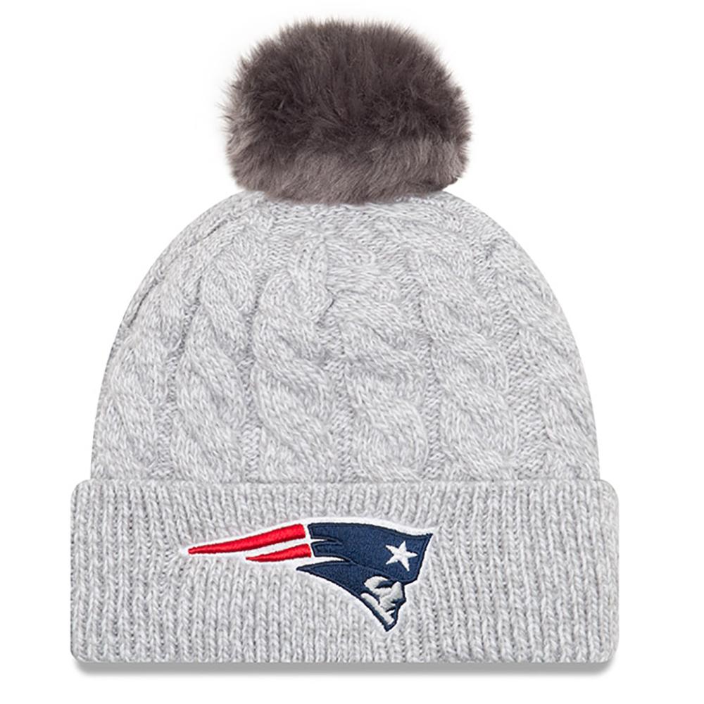 ... Cuffed Knit Hat  more photos 333a0 810b7 Patriots New Era Knit eBay   amazing price fcb5d 91a17 Ladies New Era Toasty Pom Knit ... 7c915de40