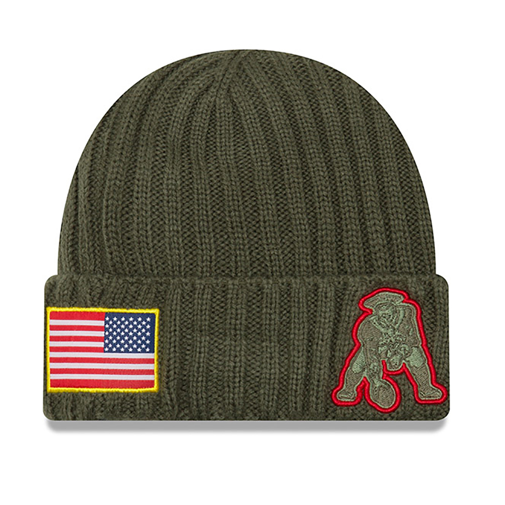 1fac630445a New Era Salute To Service Throwback Knit - Patriots ProShop