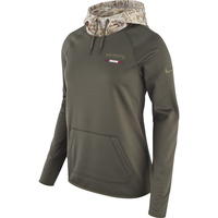 Ladies Nike Salute To Service Therma Hood