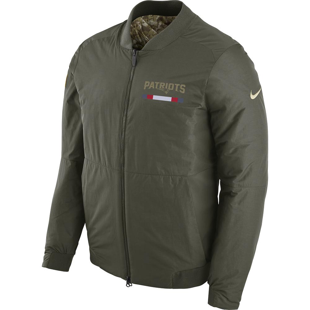 4794a908e Nike Salute To Service Bomber Jacket - Patriots ProShop