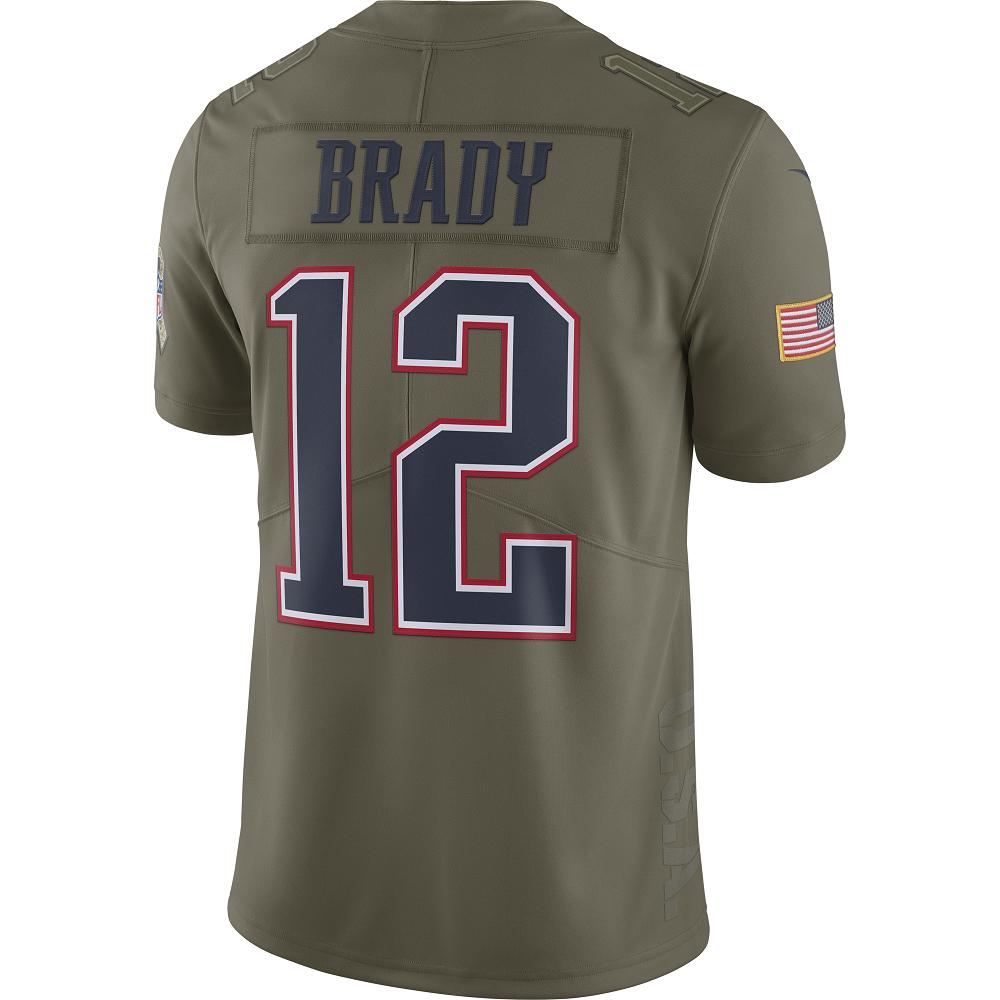 best service b9dae 6a199 Youth Nike Tom Brady Salute To Service Jersey