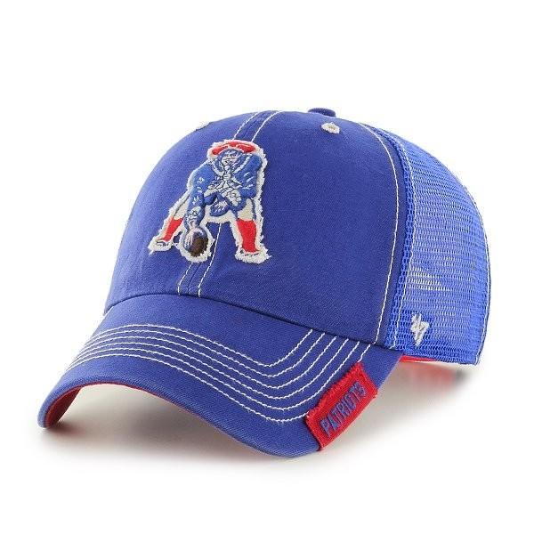 6b537eead 47 Brand Turner Clean Up Throwback Cap-Royal - Patriots ProShop