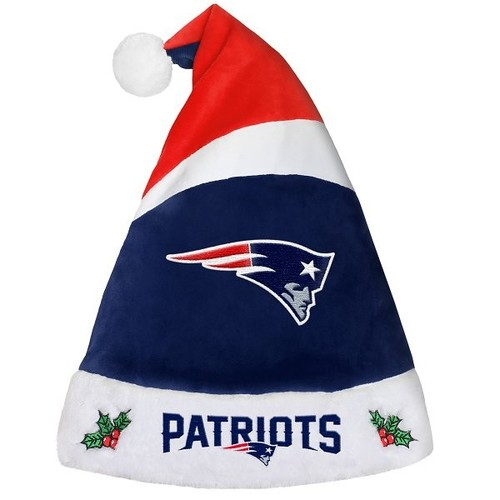 Patriots santa hat navyred