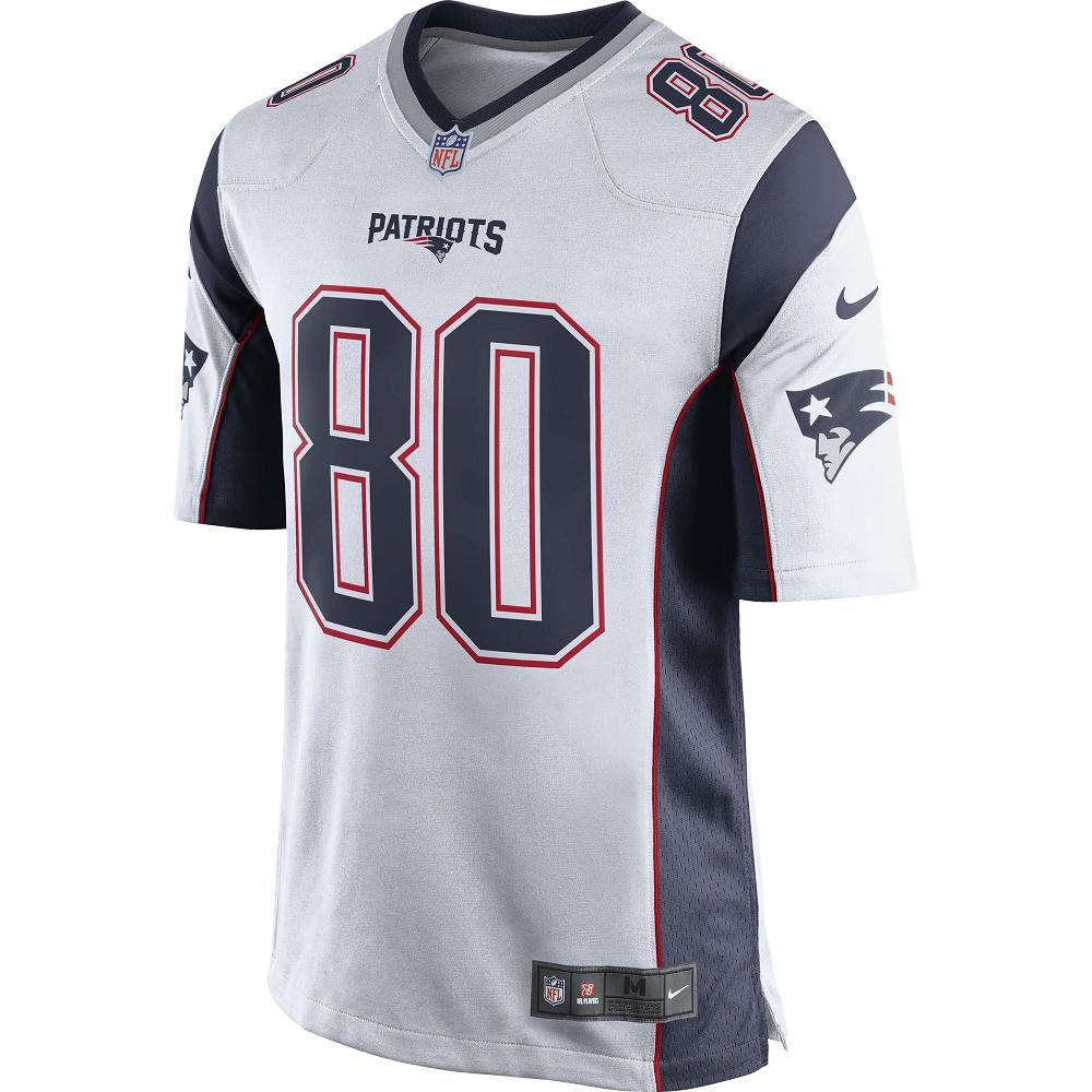 big sale 14078 14f64 Nike Danny Amendola #80 Game Jersey-White - Patriots ProShop