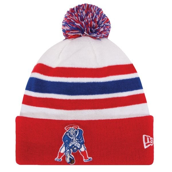 New Era Throwback 2013 On Field Knit Hat - Patriots ProShop be37041a6f3