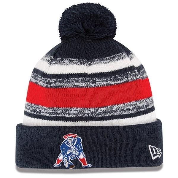 New Era Throwback 2014 On Field Knit Hat - Patriots ProShop 630f798743a