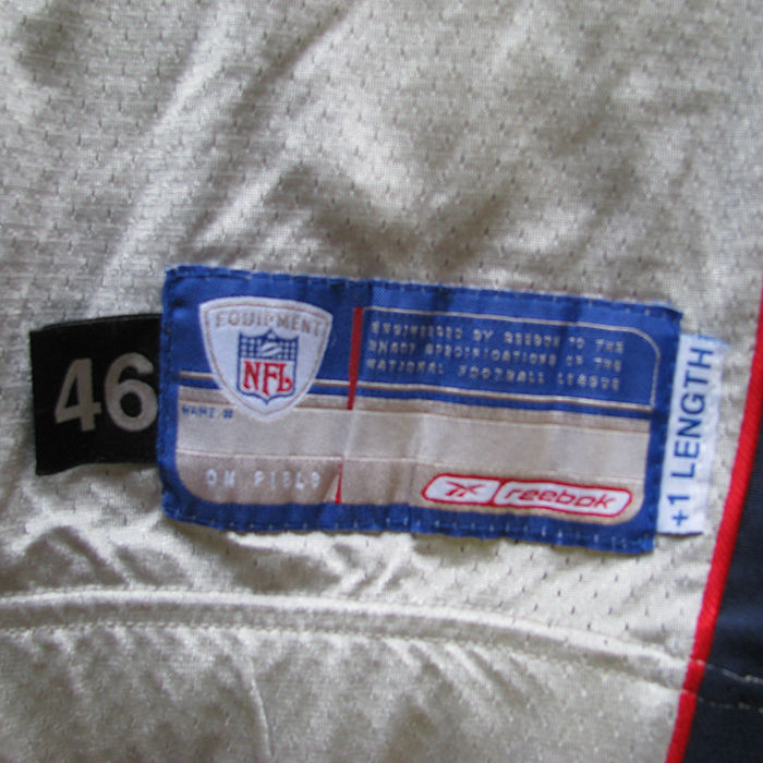 ... Meriweather05tisilverjerseytag · Meriweather05tisilverjerseyback. Zoom  Zoom. 2005 Brandon Meriweather Team Issued Silver Jersey 8d84d3986