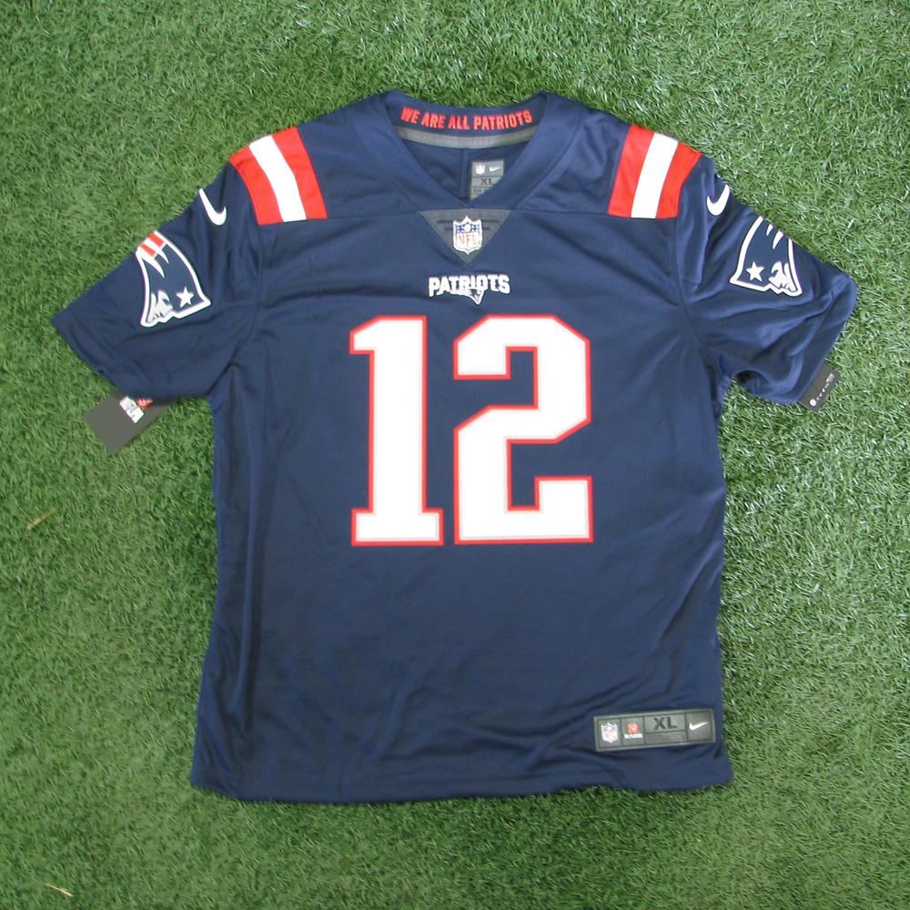 release date 38266 001b8 Tom Brady Autographed Nike Color Rush Jersey - Patriots ProShop
