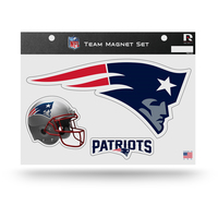 Logo and Helmet 2pc Magnet Set