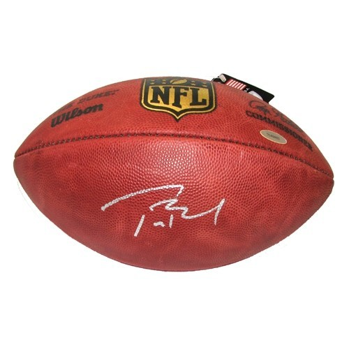 info for 943df 6345e Tom Brady Signed Official NFL Football