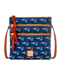 Dooney & Bourke North/South Triple Zipper Bag