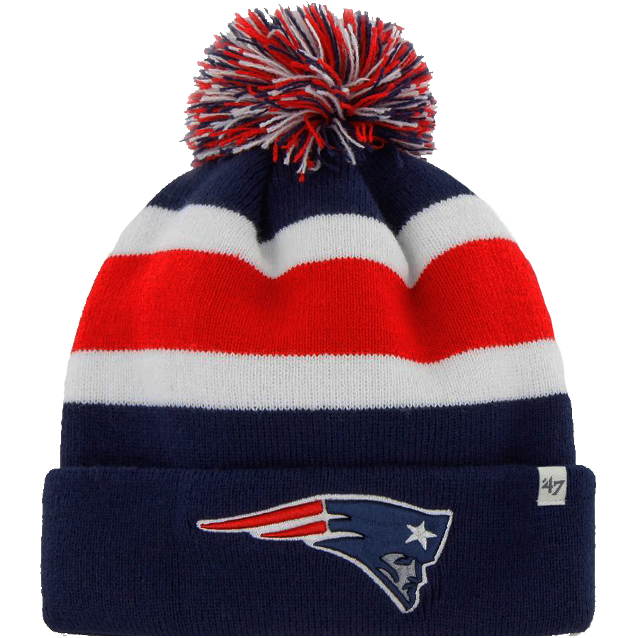 47febreakawayknit. Zoom Zoom. Patriots 47 Breakaway Knit Hat-Navy e37dc727d