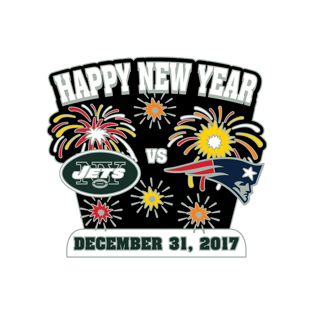 Patriots-Jets Game Day Pin