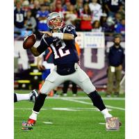 Tom Brady 8x10 Passing Photo