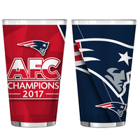 2017 AFC Champions Sublimated Pint Glass