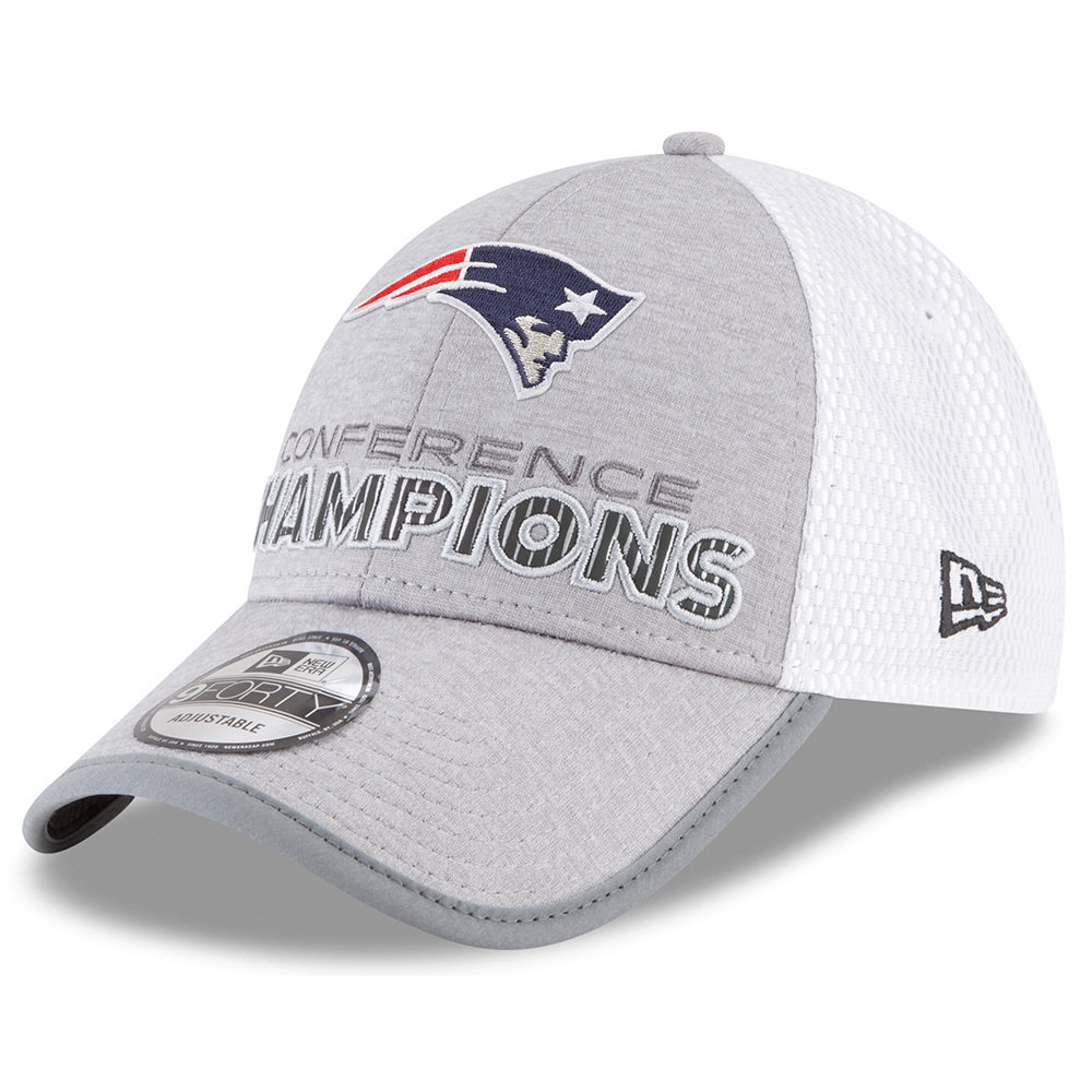 2017 AFC Champions Locker Room Cap - Patriots ProShop 57560129cf0
