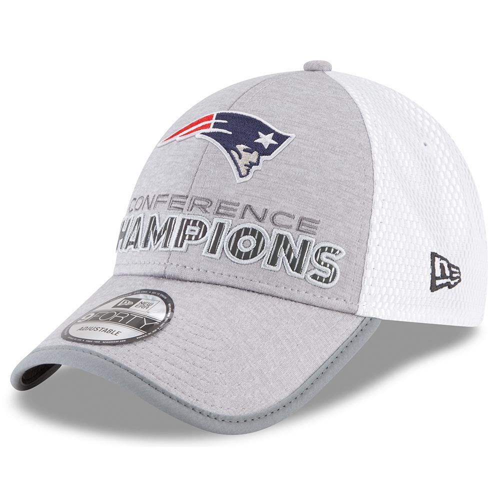 4a8f1c3013f 2017 AFC Champions Locker Room Cap - Patriots ProShop