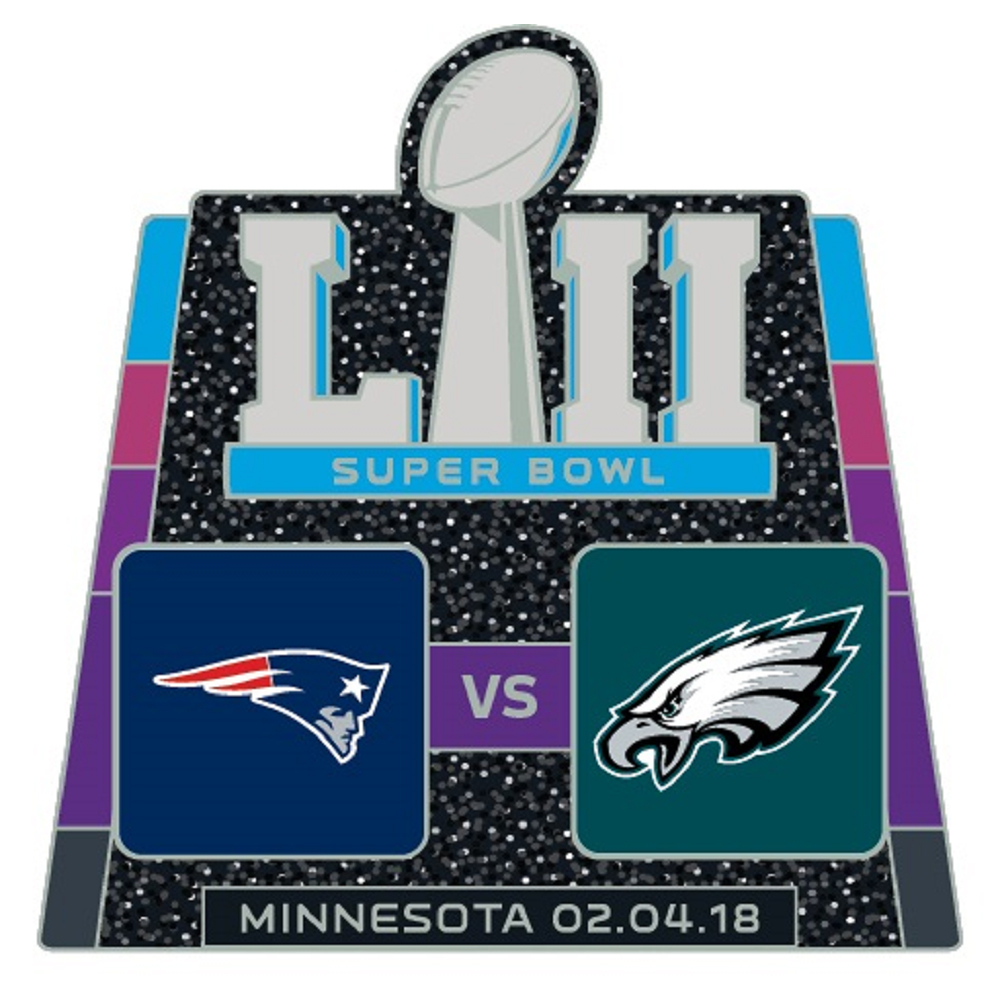 Super Bowl LII Dueling Pin