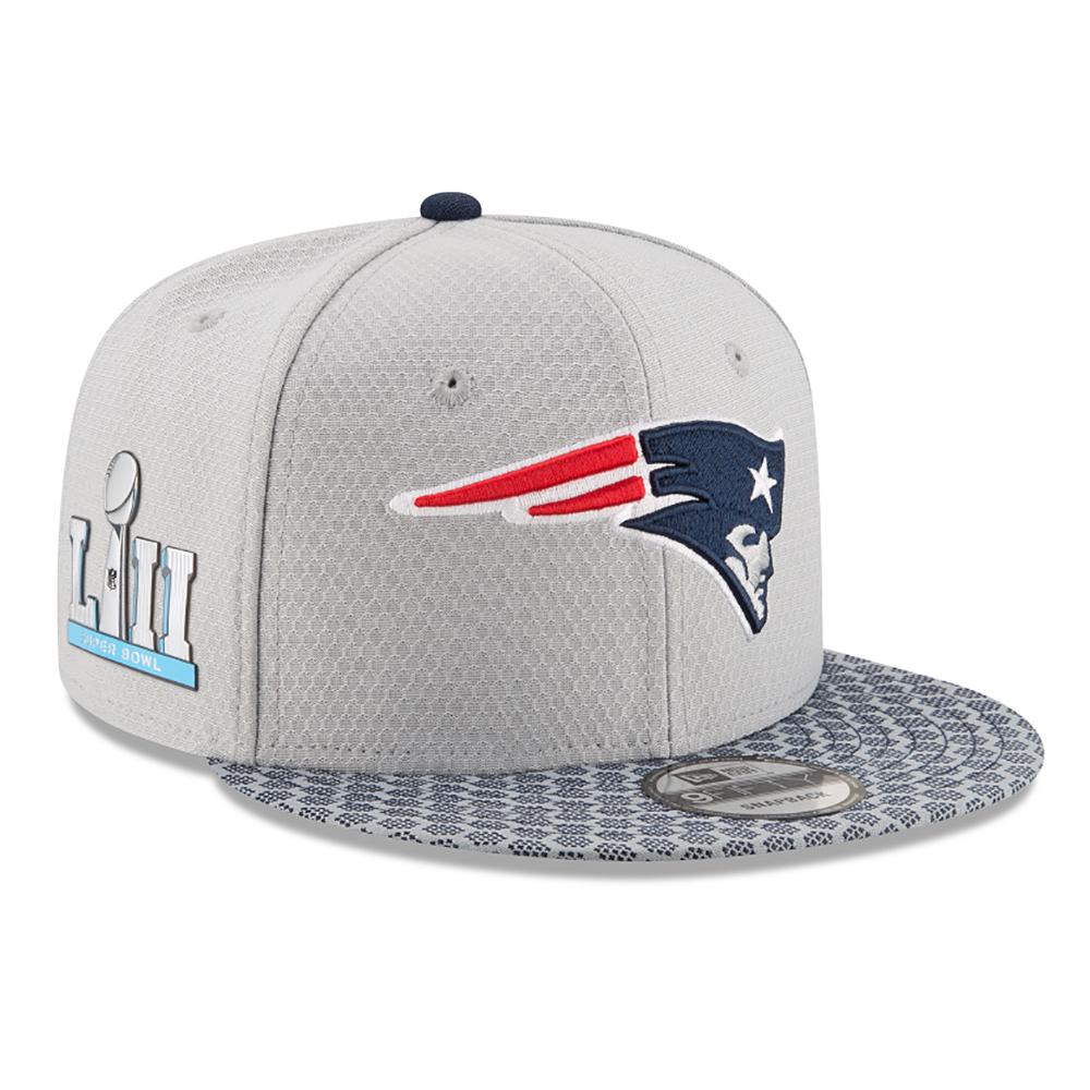 release date: 84f5a 1507b New Era Super Bowl LII 950 Snap Back Cap - Patriots ProShop