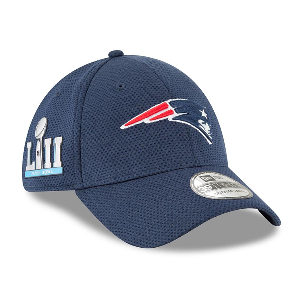 bc1ed0029 New Era Super Bowl LII Side Patch 3930 Cap - Patriots ProShop