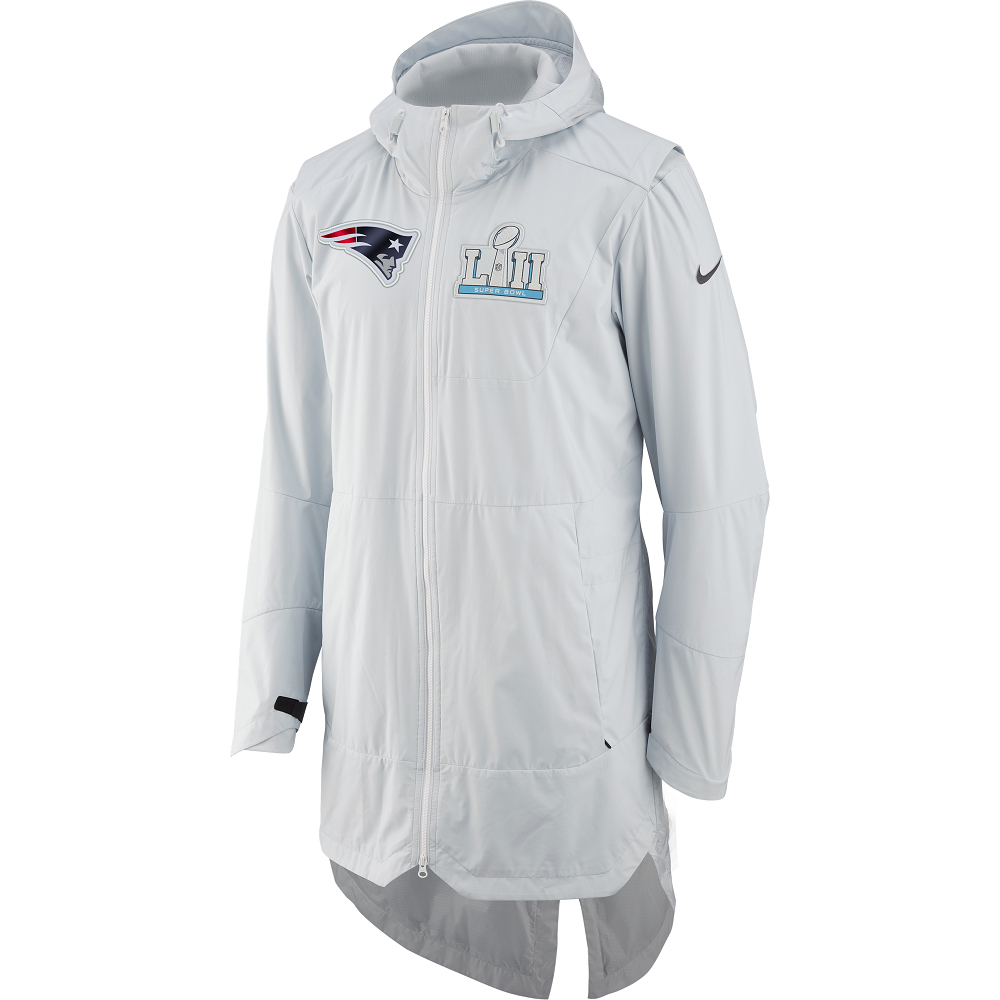 quality design 9240e a23ee Nike Super Bowl LII Media Day Cape Jacket