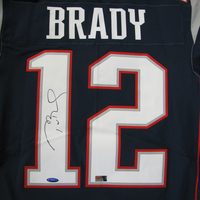Tom Brady Autographed Nike Elite Jersey