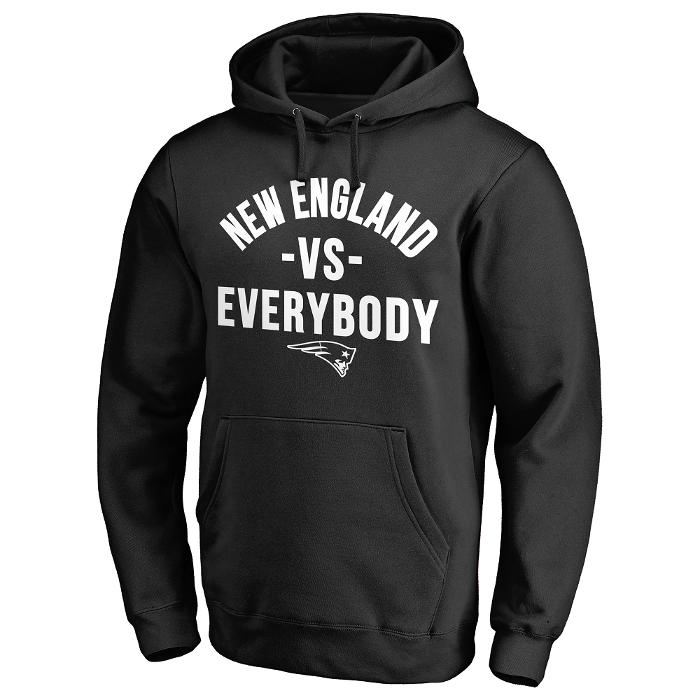 New England vs. Everybody Hood-Black