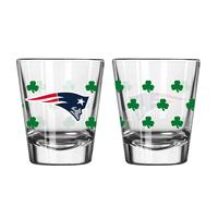 Patriots Shamrock 2oz Shot Glass
