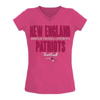 Girls '18 Baby Tee-Pink