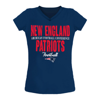 Girls '18 Baby Tee-Navy