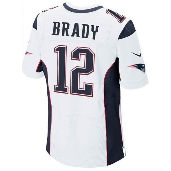 ef89f999b Nike Elite Tom Brady #12 Jersey-White - Patriots ProShop
